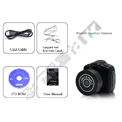 Kleinste Digitale 720p Hd Videofoto Kamera Der Welt Incl 2gb Sd