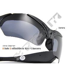 hd sonnenbrille mit integrierter 720p high definition spion kamera und 4gb immer. Black Bedroom Furniture Sets. Home Design Ideas